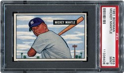 1951 Bowman Mickey Mantle #253