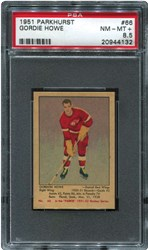 1951 Parkhurst Gordie Howe #66