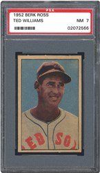 1952 Berk Ross Ted Williams