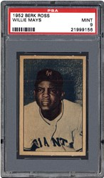 1952 Berk Ross Willie Mays