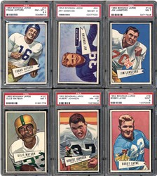 1952 Bowman Large Football Set