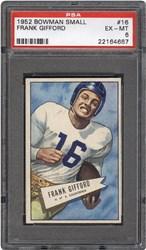1952 Bowman Small Frank Gifford #16