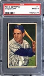 1952 Bowman Yogi Berra #1