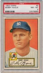 1952 Topps Bobby Hogue #9