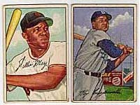 The Willie Mays and Roy Campanella cards are both keys to the set