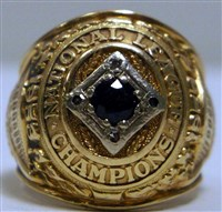 George Shuba's 1953 Brooklyn Dodgers World Series Ring