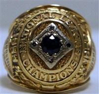 George Shuba's 1953 Brooklyn Dodgers World Series Ring