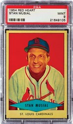 1954 Red Heart Stan Musial