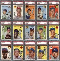 1954 Topps Baseball set