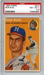 1954 Topps Bob Buhl #210