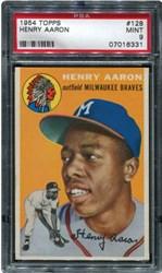 1954 Topps Henry Aaron #128