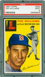 1954 Topps Ted Williams #250