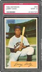 Hall of Famer and pioneering player Larry Doby passed away last week.