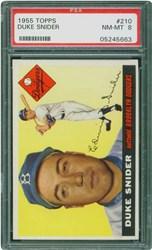 1955 Topps Duke Snider #210
