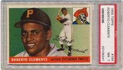 1955 Topps Roberto Clemente #164