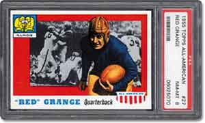 ''Red'' Grange's popularity helped turn football into a big business.
