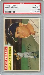 Lot 6: 1956 Topps Philley PSA 10