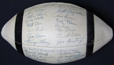 1957 Cleveland Browns Team-Signed Football