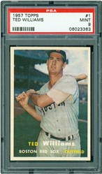 1957 Topps Ted Williams #1