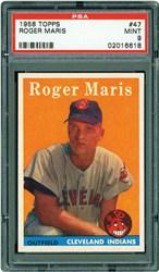 1958 Topps Roger Maris #47