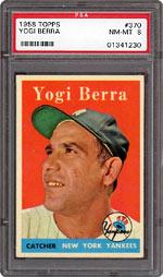 1958 Topps Yogi Berra #370