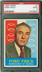 1959 Topps Ford Frick #1