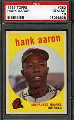 1959 Topps Hank Aaron