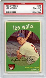 1959 Topps Lee Walls #105