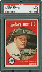 1959 Topps Mickey Mantle #10