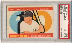 1960 Topps Mickey Mantle #563 (All Star)