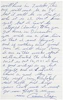 1961 Cassius Clay Handwritten Letter