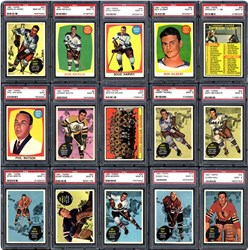 1961 Topps Hockey Set