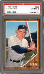 1962 Topps Yogi Berra #360