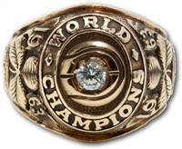 1963 Boston Celtics World Championship Ring
