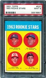 1963 Topps 1963 Rookie Stars #537