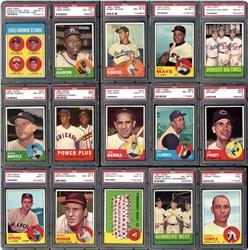 1963 Topps Baseball Set