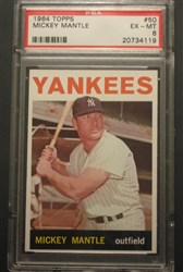 1964 Topps Mickey Mantle #50