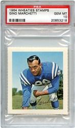 1964 Wheaties Stamps Gino Marchetti