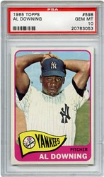 Lot 3: 1965 Topps Downing PSA 10