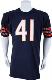 1966-68 Brian Piccolo Game Worn Chicago Bears Jersey, MEARS A10