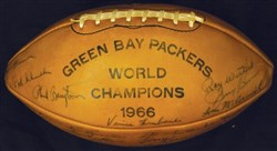 1966 Green Bay Packers Football