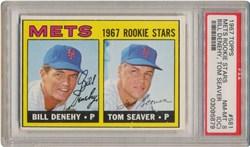 1967 Topps Mets Rookies #581 (B.Denehy/T.Seaver)