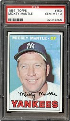1967 Topps Mickey Mantle #150