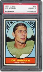 NY Jets quarterback ''Broadway Joe'' Namath promised victory in '69, and delivered.