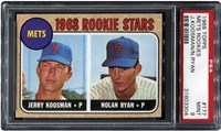 1968 Topps Mets Rookies #177 (J.Koosman/N.Ryan)