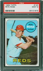1969 Topps Pete Rose #120