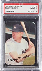 1969 Topps Super Mickey Mantle #24
