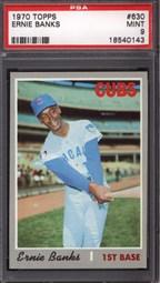 1970 Topps Ernie Banks #630