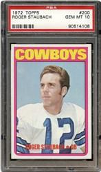 1972 Topps Roger Staubach #200