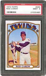 1972 Topps Rod Carew #695
